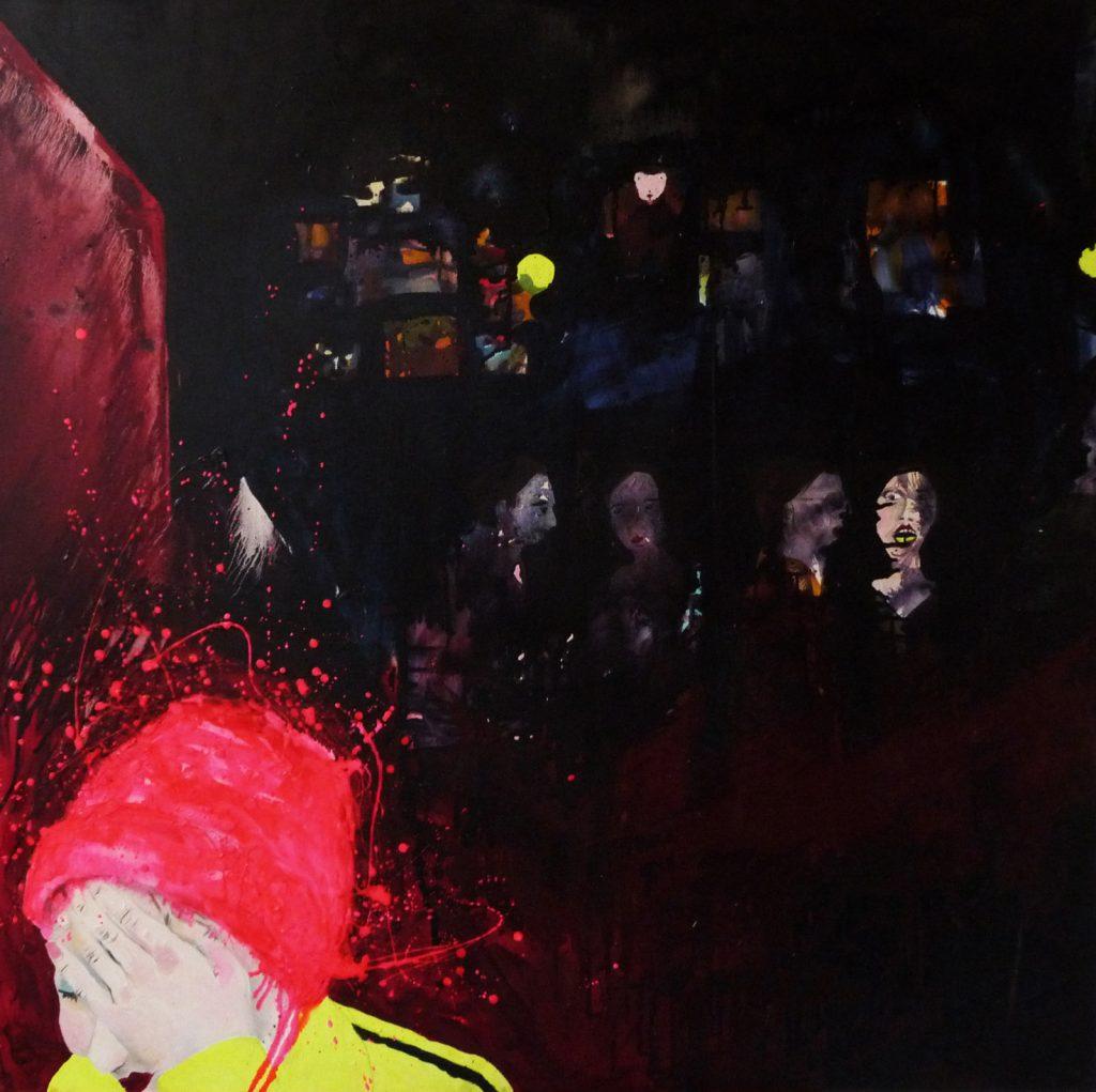 Alice - Huile sur toile (120x120cm)