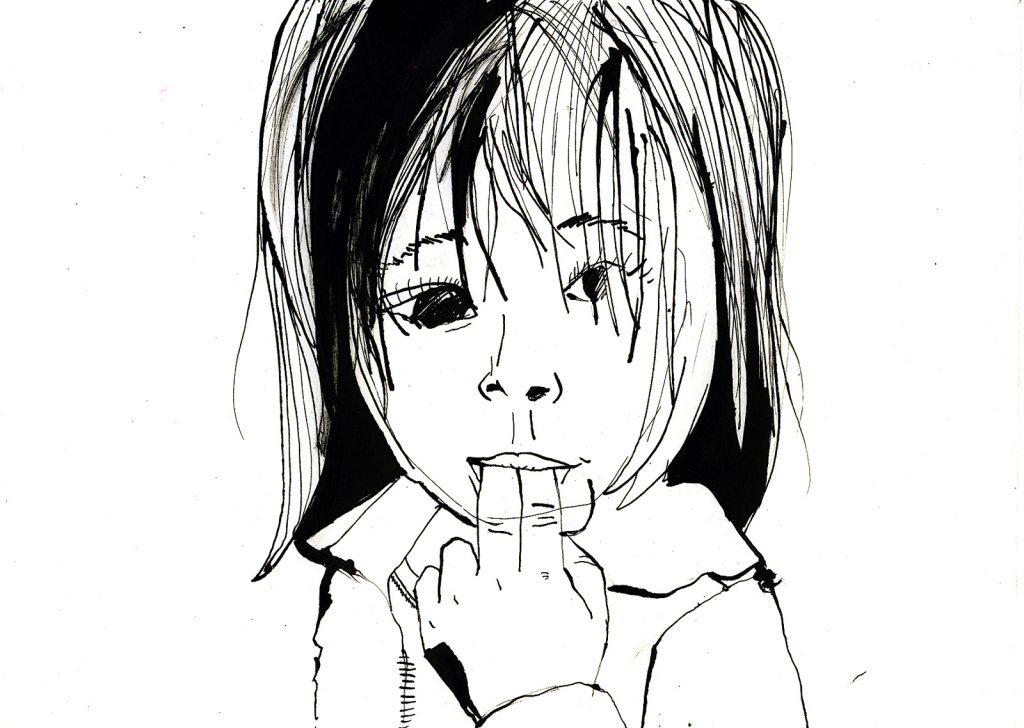 Sarah-Lou - Encre de chine